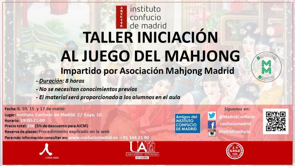 Taller iniciacion Majhong