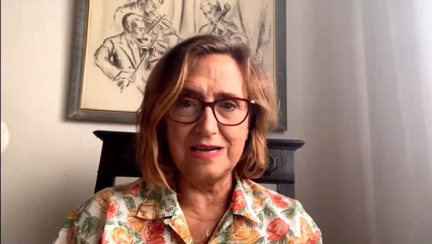 Carmela Calés,Vicerrectora de Internacionalización de la UAM